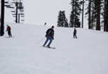 Skiing at Dodge Ridge