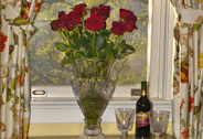 Arrange for Roses and Wine
